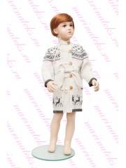 """Пальто для девочек """"Олени"""""""