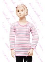 Свитер-туника для девочек СВ-949
